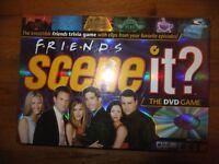 Friends Scene it? The DVD Board Game Complete Mattel 2005