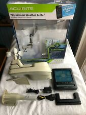 AcuRite Pro 5-in-1 Color Weather Station with Wind, Rain, Temp (01536) Wireless!