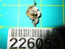 Vintage Opening Nuvo Rose Sterling Silver Charm / Honey Bee, Enamel Detail