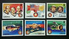 Liberia Co-operation In Space USA-USSR 1975 Astronomy Satellite Flag (stamp) MNH