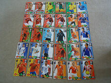 30 PANINI 2010 FIFA WORLD CUP SOUTH AFRICA  TRADING CARD GAME FOOTBALL CARDS
