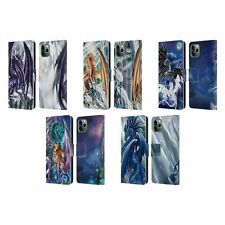 OFFICIAL RUTH THOMPSON DRAGONS 3 LEATHER BOOK CASE FOR APPLE iPHONE PHONES