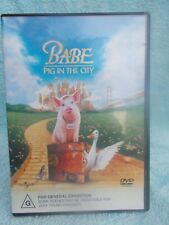 BABE PIG IN THE CITY  DVD G R4