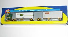 Athearn Iml Freightliner & 2-28' Trailers~New Old Stock~Ho Scale