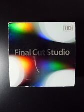 Apple Final Cut Studio 3 HD Pro 7 mb642z/a Boxed Full Retail DVD Schnelle Lieferung