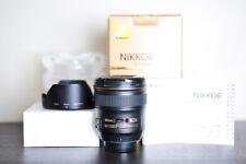 Nikon AF-S 24mm F/1.4G Wide Angle Prime FX Lens - US Model!