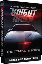 Knight Rider: David Hasselhoff Complete Series Seasons 1 2 3 4 Boxed DVD Set NEW