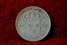 Sweden, 1934 50 Ore, KM788, silver, 0.965 oz., NR,                           5-4