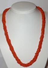 Old Coral Necklace Coral Necklace Coral Pearls Bead Chain Coral