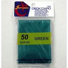 750 Magic MTG Gaming Card Green Protector Sleeves CP05