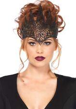 Krone Alessandra schwarz NEU - Karneval Fasching Hut Mütze Kopfbedeckung