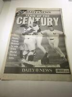 Newsday: Oct 28 1999 Team of the Century, Ny Yankees world series