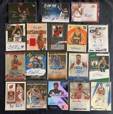 18 Card Auto Lot Panini Contenders Fleer Rookie Celtics Raptors Rockets NBA