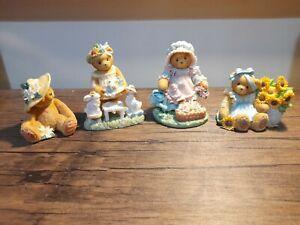 cherished teddy floral bundle