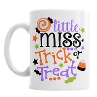 Little Miss Trick Or Treat Halloween Novelty Office Coffee Mug Gift Tea Cup
