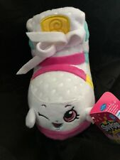 "Shopkins SOFT SNEAKY WEDGE SNEAKER 5"" Plush STUFFED ANIMAL Toy NEW w/ TAG"