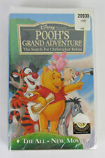 NEW Pooh's Grand Adventure The Search For Christopher Robin (VHS, 1997) Sealed