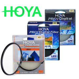 HOYA CIR CULAR PL combined HMC UV and HOYA PRO1 UV 43mm multilayer coating