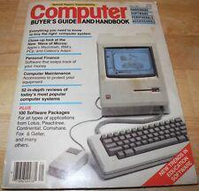 RARE 1984 COMPUTER BUYER'S GUIDE Apple II Macintosh 128K IBM PCJr LISA MAC etc.