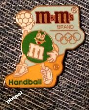Handball Olympic Pin~1992 Barcelona~Sponsor~M&M's~Mars~Trader 2016 in Rio