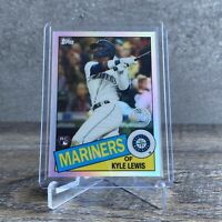 KYLE LEWIS TOPPS CHROME REFRACTOR ROOKIE CARD 1985 35th ANNIVERSARY RC 85TC-22