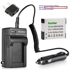 Kastar Battery Travel Charger for Panasonic DMW-BCM13 & Panasonic Lumix DMC-ZS50