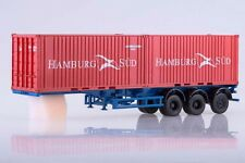 1:43 AIST (SSM) #102163 Semitrailer MAZ-938920 container truck with containers