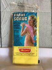 Vintage Marukai Maxi Scrub Nylon Wash Towel Scantily Clad Girl In Shower Image