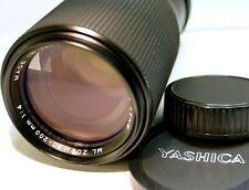 Yashica 80-200mm f4 ML  manual focus C/Y Contax Yashica