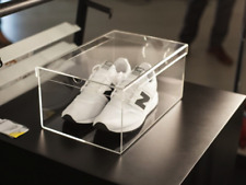 IKEA SPÄNST DESIGNER CHRIS STAMP 1 x ACRYL SHOE-BOX, NEW (VIRGIL ABLOH MARKERAD)
