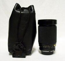 TOKINA SZ-X f/3.5-5.3 28-200mm Zoom Minolta MD Lens SLR Film Camera DSLR w/Case