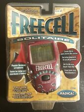 Radica FREECELL 8019 Solitaire Electronic Handheld Game IN PACKAGING EX TESTED