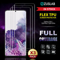 3X Samsung Galaxy S20 Plus Ultra S10 S9 Note 10 9 Plus 5G Full Screen Protector