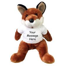 "Personalized Stuffed Fox - 14"" Vixen Fox by Douglas Plush"