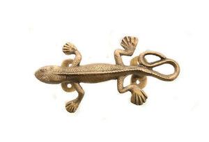 Griff Anhänger Gecko Lizard aus Messing Peterandclo 7740 C9
