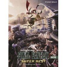Final Fantasy Super Best Piano Solo sheet music book