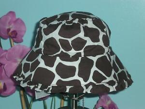 Gap Safari Giraffe Sun Hat 3-6 Months NWT 2008