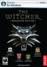 The Witcher 1 Enhanced Edition PC Games Windows 10 8 7 XP Computer mature rpg