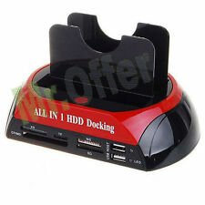 Docking station per Hard disk 2,5 e 3,5 Sata/Ide All in One HD usb notebook pc