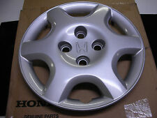 "96-00 New Genuine Honda Civic Hubcap 14"" wheel  6 Spoke hub cap Hubcap cover"