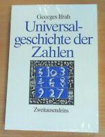 Universalgeschichte der Zahlen von Georges Ifrah (Taschenbuch), NEU & OVP!!!
