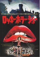 THE ROCKY HORROR PICTURE SHOW- OriginalJapanese Mini Poster Chirash Rare