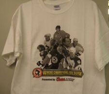 WBS Penguins 2009-10 Where Champions Are Born T-Shirt XL Pittsburgh NOS Nice