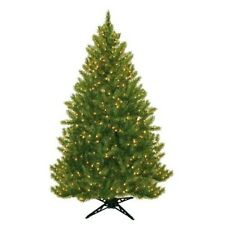 6.5' Evergreen Fir Artificial Christmas Tree with 450 Clear Lights