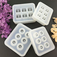 Silicone Gem Beads Moulds Mold Resin Jewellery Making Pendant Jewelry Craft