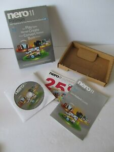 Nero 11 Platinum  Software for video editing, burning, and backup