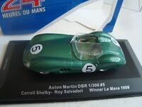 MINIATURE ASTON MARTIN DBR 1/300 WINNER LE MANS 1959  IXO  1/43