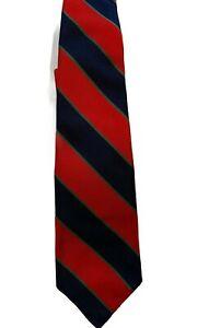 "'Royal Dublin Fusiliers' British Silk Regimental Tie by Robert Talbott 56"""