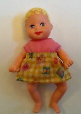Barbie Happy Family Baby Krissy Doll Infant w Original Outfit