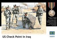 U.S. Check Point in Iraq, (4 figures)  1/35 MasterBox 3591